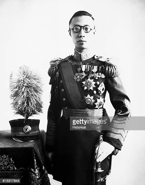 Henry P'ui the last and tenth Emperor of the Manchurian Ch'ing Dynasty in China During the Japanese occupation of China he was set up as the nominal...