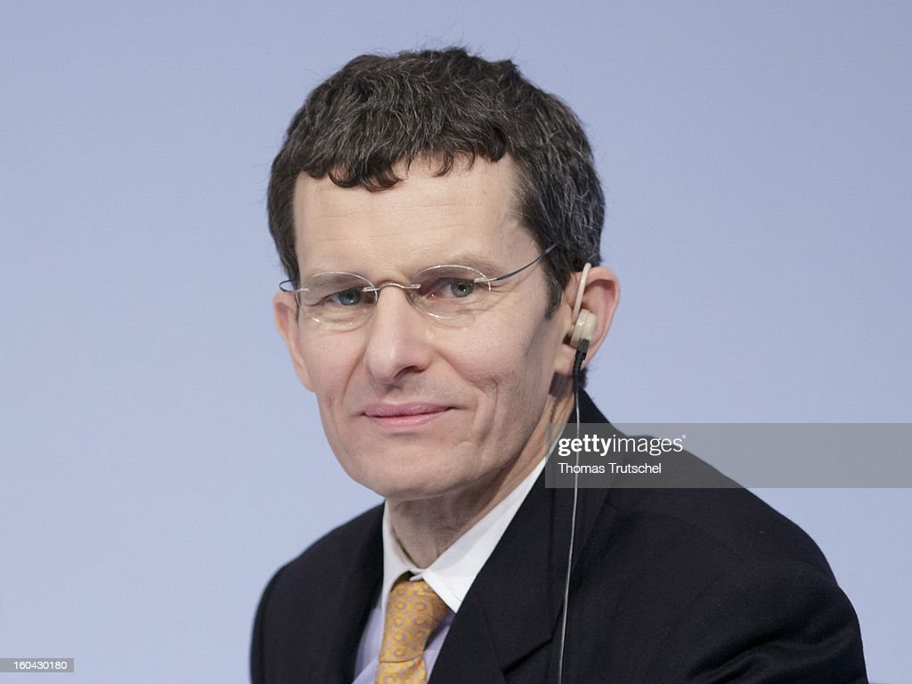 Henry Ritchotte, Chief Operating Officer of Deutsche Bank, appears during the annual press conference at Deutsche Bank headquarters on January 31, 2013 in Frankfurt am Main, Germany. Deutsche Bank announced a fourth quarter, pre-tax loss of EUR 2.6 billion, largely due to restructuring and litigation costs..