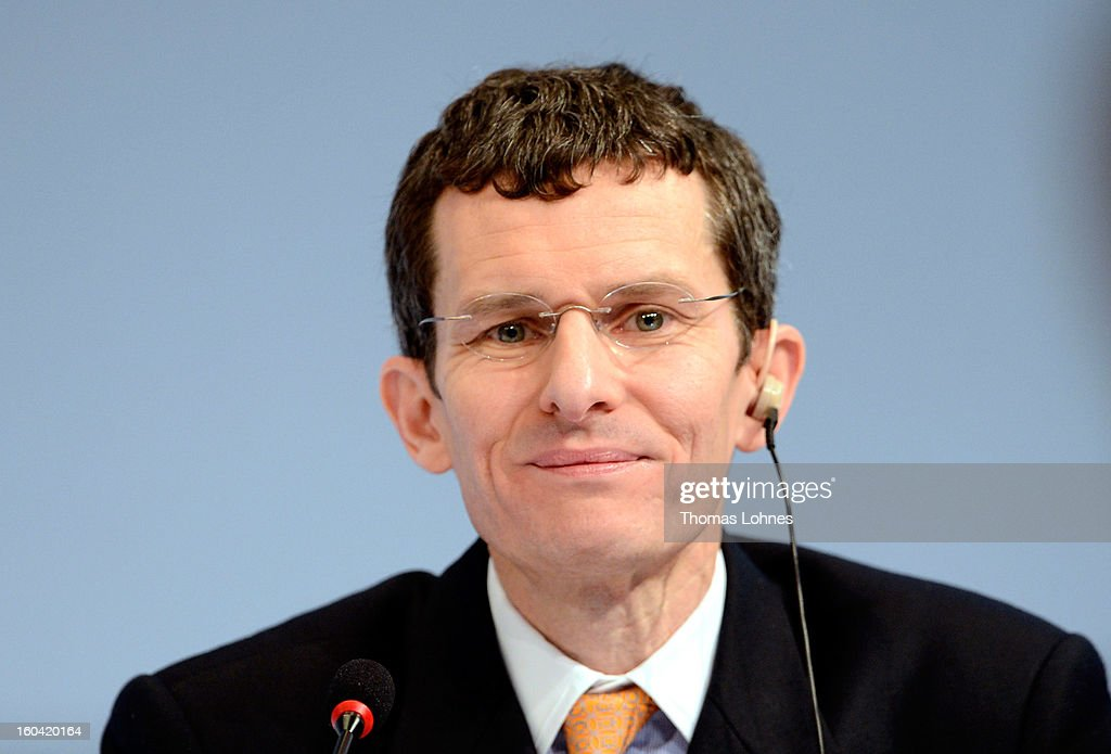 Henry Ritchotte, member of the board of Deutsche Bank, attends the company's annual press conference to announce its financial results for 2012 on January 31, 2013 in Frankfurt, Germany. Deutsche Bank announced a fourth quarter, pre-tax loss of EUR 2.6 billion, largely due to restructuring and litigation costs.