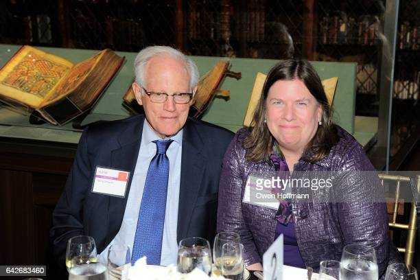 Henry Schacht and Madeline Fackler attend Women for the World The Campaign for Smith College at The Morgan Library Museum on February 16 2017 in New...
