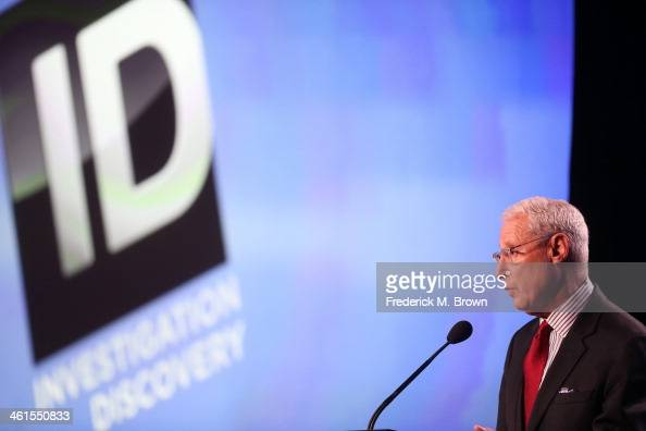 Henry Schleiff Group President Investigation Discovery Military Channel and Destination America speaks onstage during the 'Investigation Discovery...