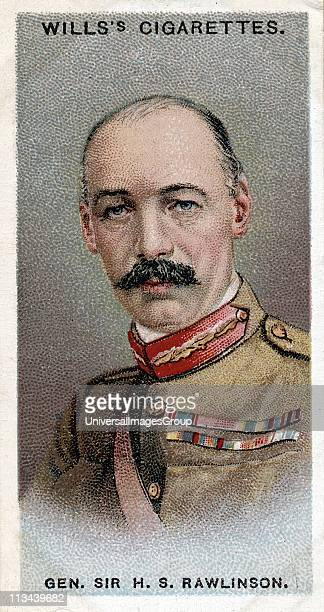 Henry Seymour Rawlinson 1st Baron Rawlinson English general Commander of 4th Army on the Somme Broke Hindenburg line near Amiens 1918...