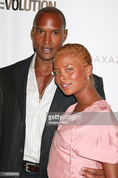 Henry Simmons and Eva Pigford during 2005 Fashion Rocks Red Carpet Arrivals at Radio City Music Hall in New York City New York United States