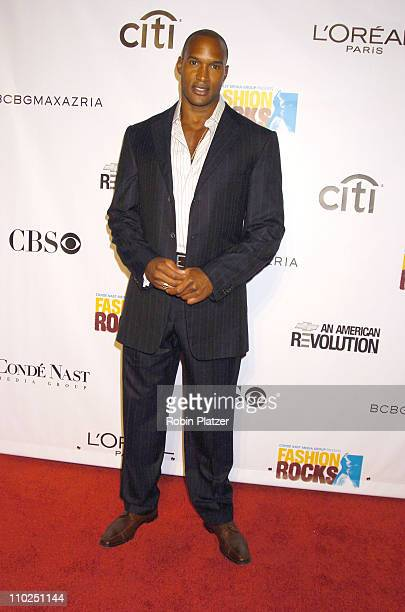 Henry Simmons during 2005 Fashion Rocks Red Carpet at Radio City Music Hall in New York City New York United States