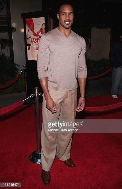 Henry Simmons during 'Last Holiday' Los Angeles Premiere Arrivals at Cinerama Dome in Hollywood California United States