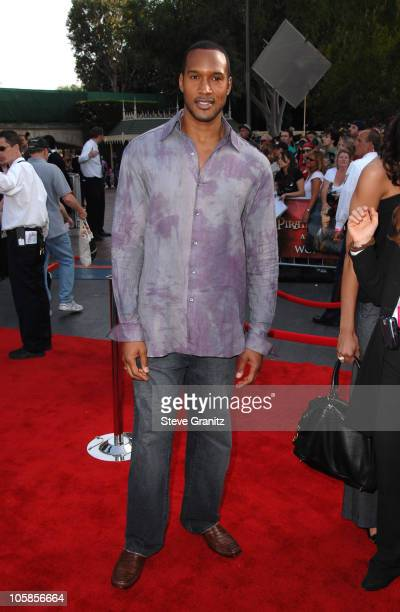 Henry Simmons during 'Pirates of the Caribbean At World's End' World Premiere Arrivals at Disneyland in Anaheim California United States