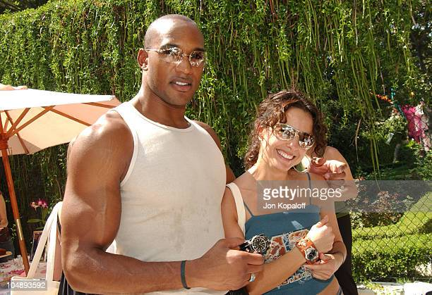Henry Simmons Jacqueline Obradors during The Silver Spoon Beauty Buffet Sponsored By Allure at Private Residence in Hollywood California United States
