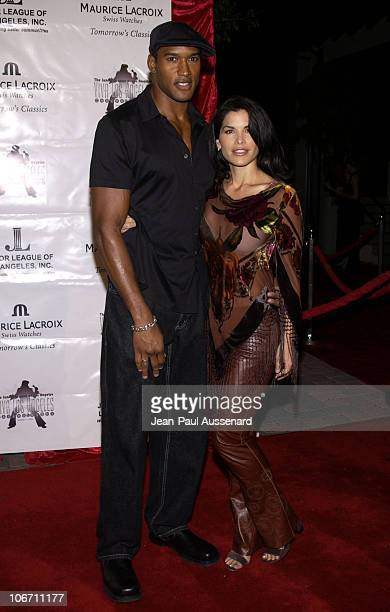 Henry Simmons Lauren Sanchez during Maurice Lacroix Presents The Junior League of Los Angeles 'Viva Los Angeles' Casino Night Arrivals at Jim Henson...