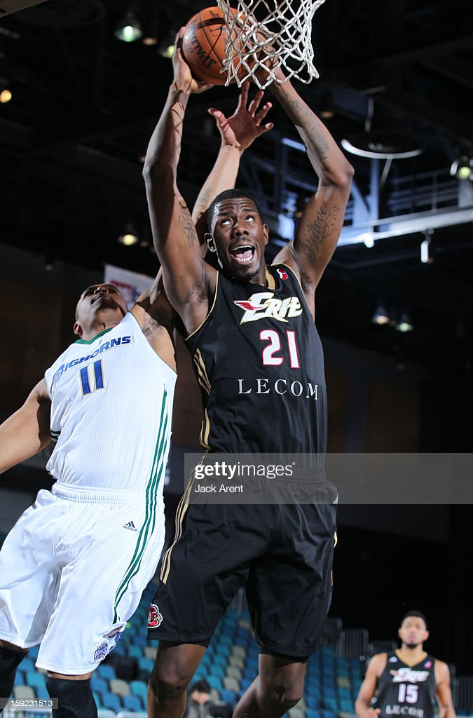 Henry Sims #21 of the Erie BayHawks shoots the ball against the Reno Bighorns during the 2013 NBA D-League Showcase on January 9, 2013 at the Reno Events Center in Reno, Nevada.