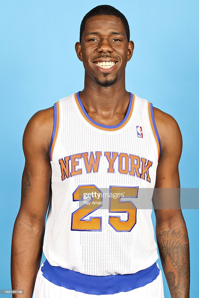 Henry Sims #25 of the New York Knicks poses for a photo during the New York Knicks Media Day on October 1, 2012 at the Madison Square Garden Training Center in Tarrytown, New York.