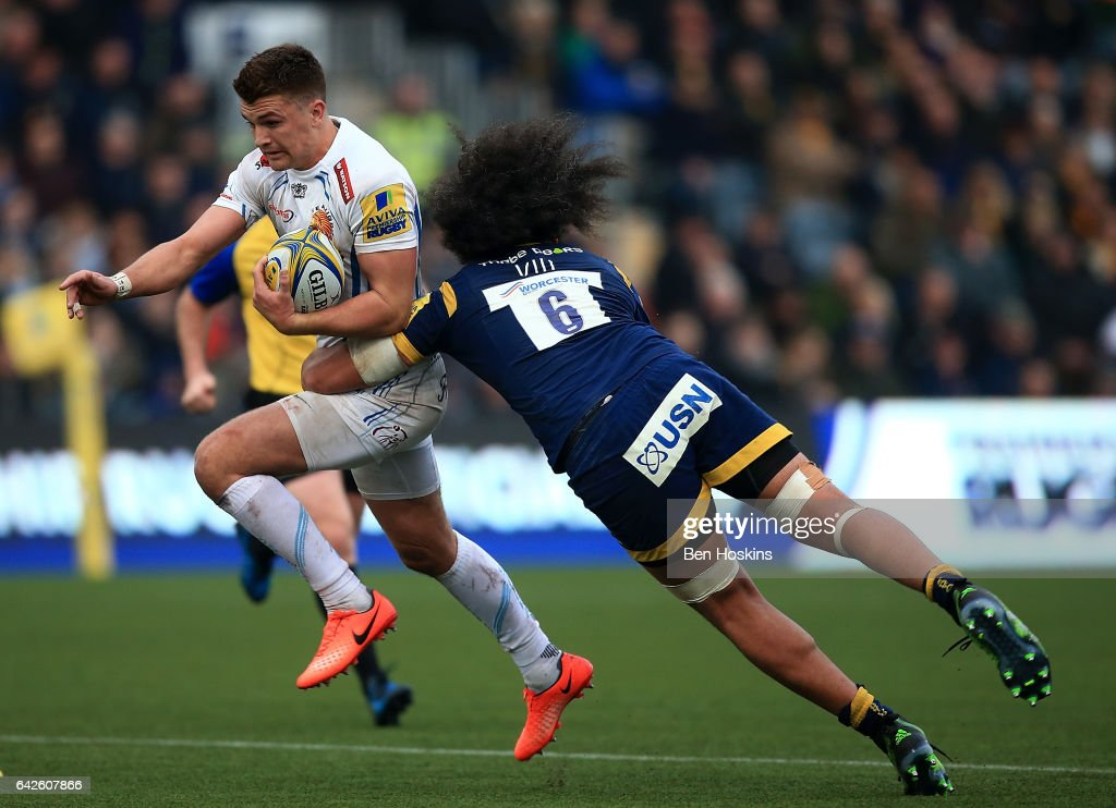 Worcester Warriors v Exeter Chiefs - Aviva Premiership