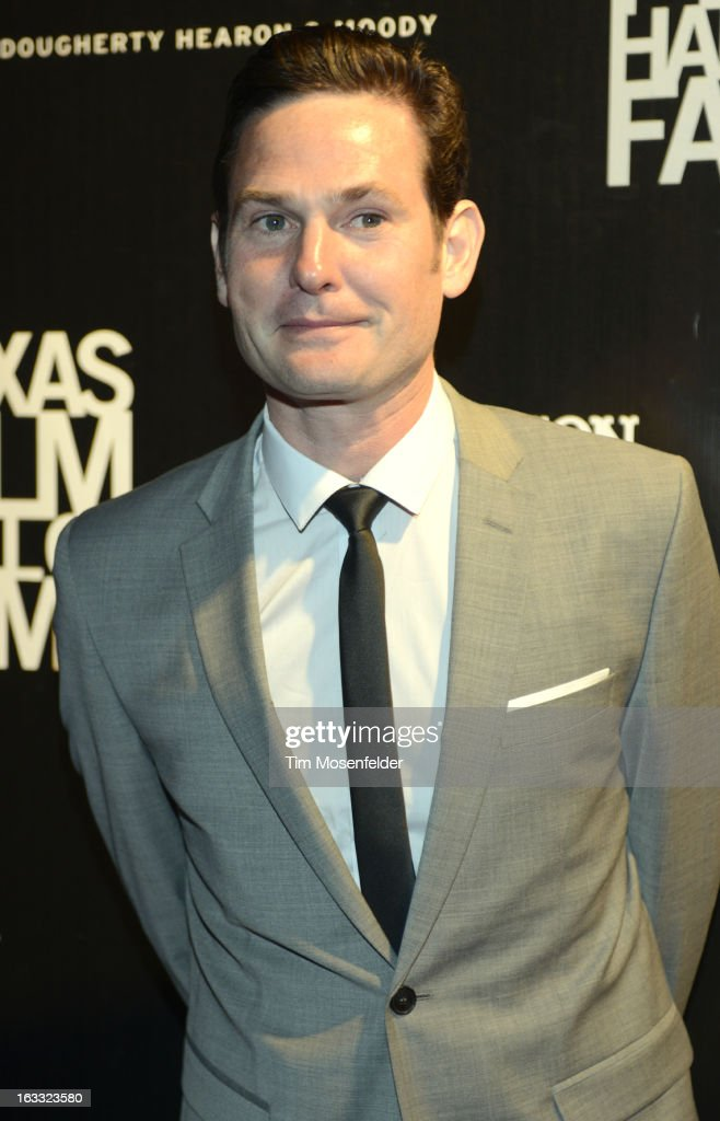 <a gi-track='captionPersonalityLinkClicked' href=/galleries/search?phrase=Henry+Thomas+-+Actor&family=editorial&specificpeople=4510585 ng-click='$event.stopPropagation()'>Henry Thomas</a> poses at the Texas Film Hall of Fame Awards at Austin Studios on March 7, 2013 in Austin, Texas.