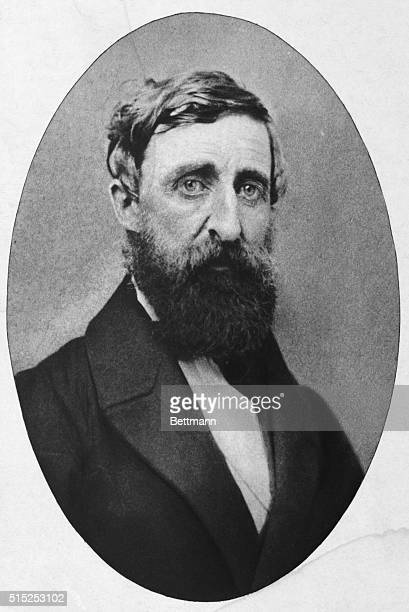 Henry Thoreau at the age of 44
