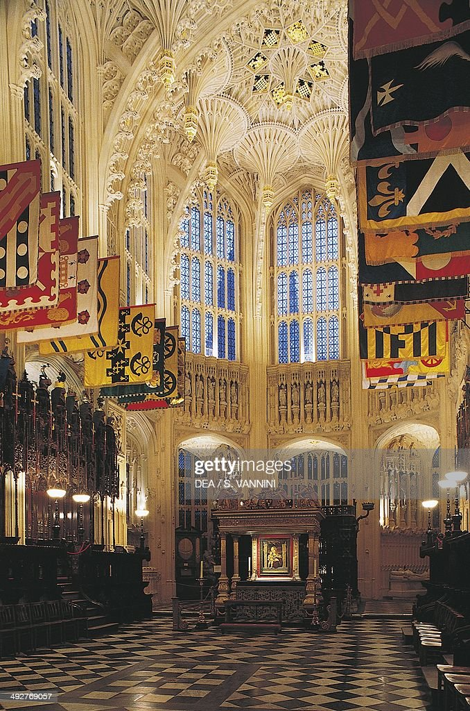 Henry VII Chapel or Henry VII Lady Chapel 15031519 Westminster Abbey London England United Kingdom