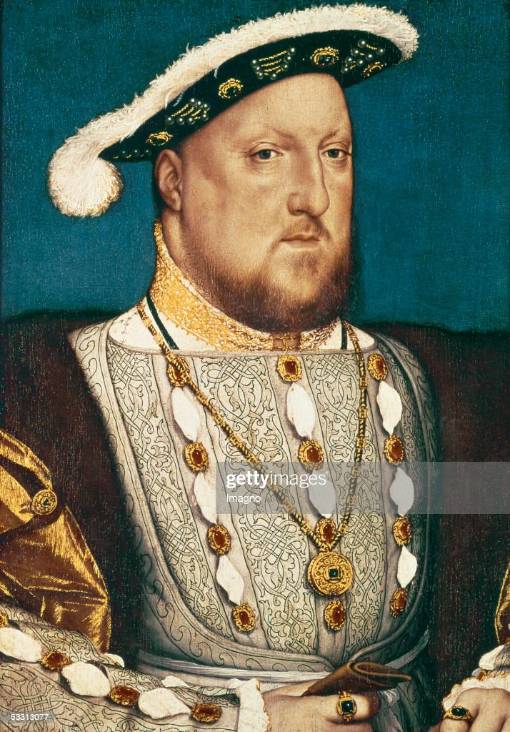 Henry VIII, King of Britan. Canvas. (Photo by Imagno/Getty Images) [Henry VIII, Koenig von England. Gemaelde.]