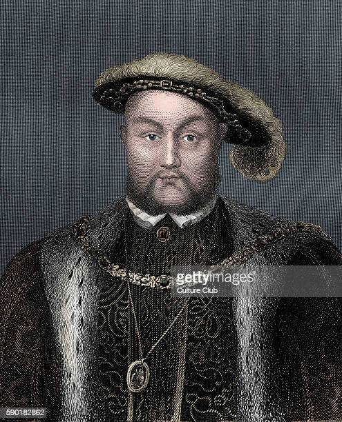 Henry VIII portrait King of England from 21 April 1509 until his death 28 June 1491 Ð 28 January 1547