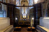 Henry V's secret chapel at Westminster Abbey on September 15 2015 in London England To mark the 600th anniversary of the Battle of Agincourt...