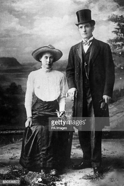 Henry Williams and his new wife Beatrice 'Bessie' Mundy