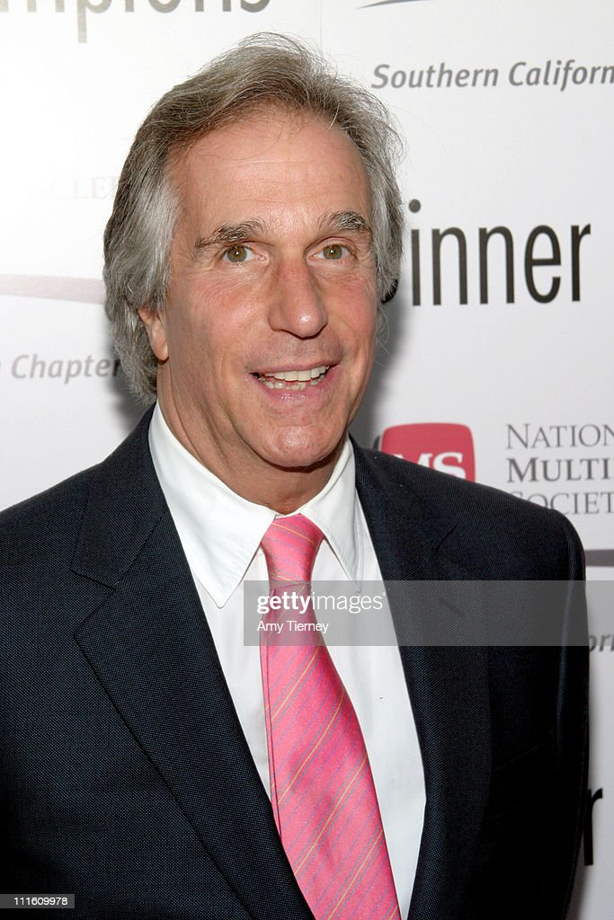 Henry Winkler during 31st Annual MS Dinner of Champions at Kodak Theatre in Los Angeles, California, United States.