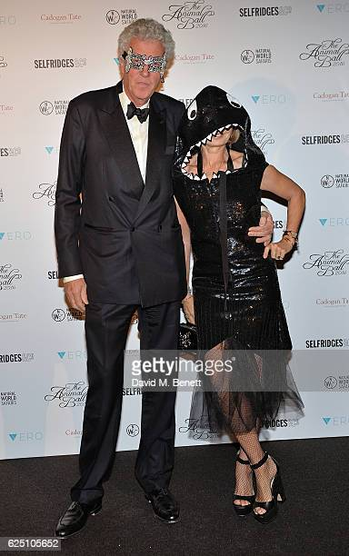 Henry Wyndham and guest attend The Animal Ball 2016 presented by Elephant Family at Victoria House on November 22 2016 in London England