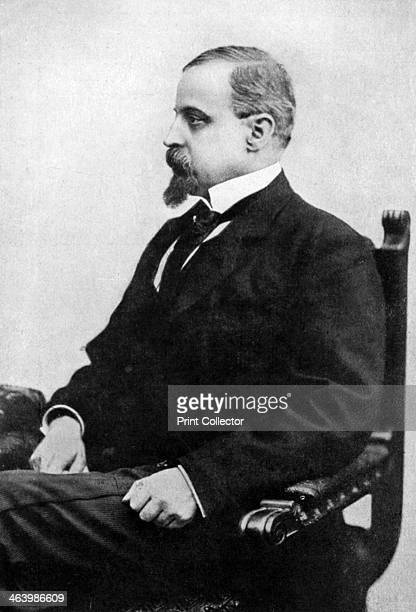 Henryk Sienkiewicz Polish novelist and publicist late 19th century Portrait of Nobel Prizewinning author Sienkiewicz From Story of the British Nation...
