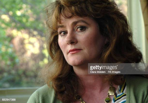 Hepatitisinfected haemophiliac Colette Wintle sits for a photograph after attending an independent inquiry into the use of contaminated NHS blood...