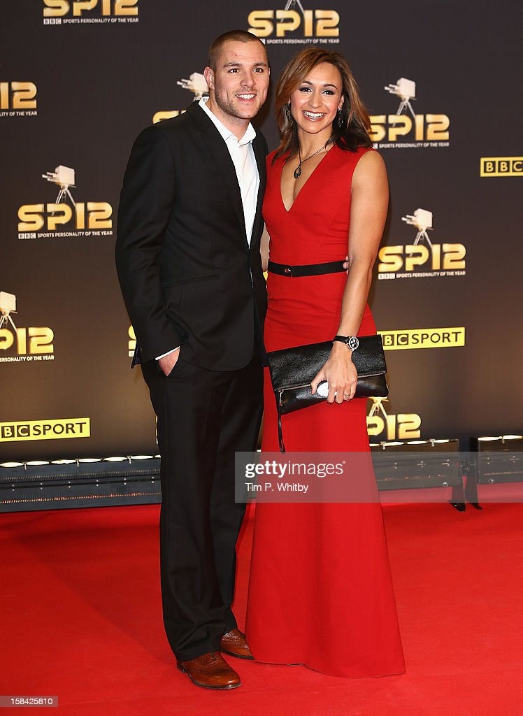 Heptathlete <a gi-track='captionPersonalityLinkClicked' href=/galleries/search?phrase=Jessica+Ennis&family=editorial&specificpeople=602482 ng-click='$event.stopPropagation()'>Jessica Ennis</a> and Andy Hill attend the BBC Sports Personality of the Year Awards at ExCeL on December 16, 2012 in London, England.
