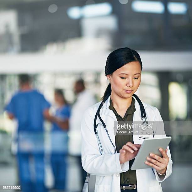 Her connection to patients, doctors and online medical resources