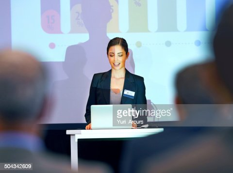 Her first press conference