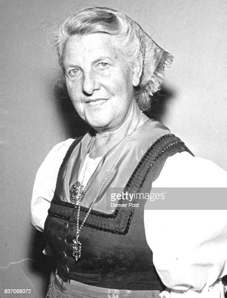 Her Life Story Became ' The Sound of Music' Baroness Maria Von Trapp from riches to rags and back Credit Denver Post
