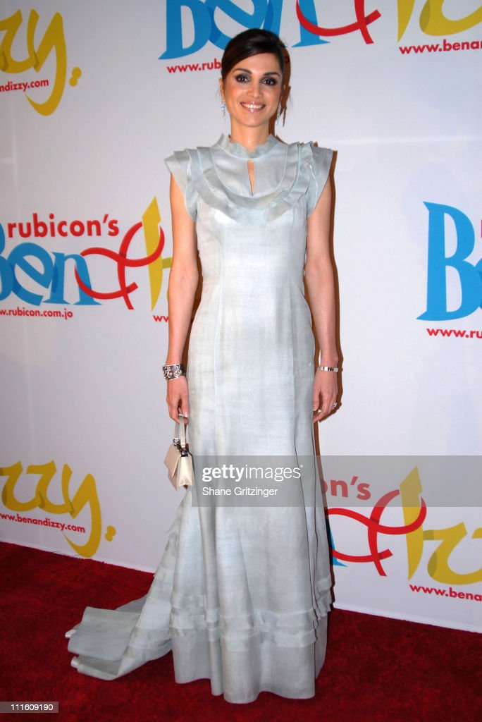 Her Majesty Queen Rania Al - Abdullah Of Jordan during Rubicon's 'Ben and Izzy' Gala with Special Host Her Majesty Queen Rania Al-Abdullah of Jordan at The Metropolitan Museum Of Modern Art in New York City, New York, United States.