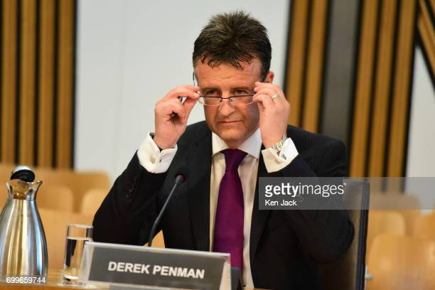 Her Majesty's Inspector of Constabulary in Scotland Derek Penman gives evidence to the Scottish Parliament's Justice Subcommittee on Policing...