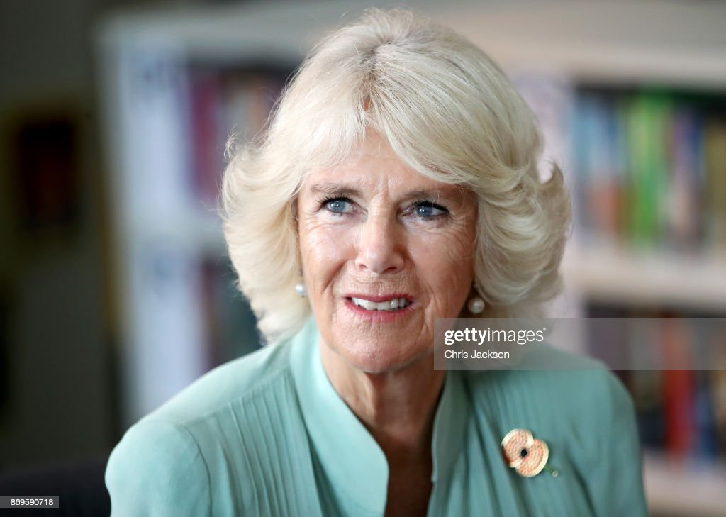 Her Royal Highness, Camilla, Duchess of Cornwall visits The International School at ParkCity on November 3, 2017 in Kuala Lumpur, Malaysia. Prince Charles, Prince of Wales and Camilla, Duchess of Cornwall are on a tour of Singapore, Malaysia, Brunei and India.