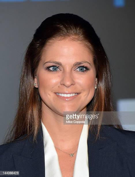 Her Royal Highness Princess Madeleine of Sweden attends the World Childhood Foundation USA Symposium In Partnership With Inwood House at NASDAQ...