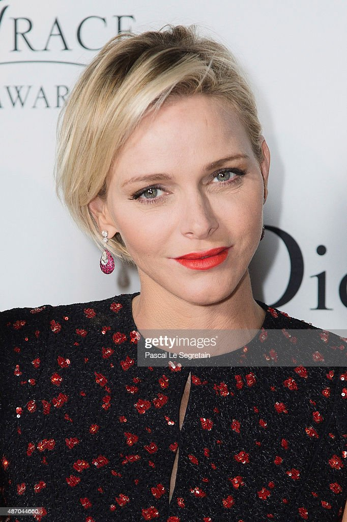 Her Serene Highness Princess <a gi-track='captionPersonalityLinkClicked' href=/galleries/search?phrase=Charlene+-+Princess+of+Monaco&family=editorial&specificpeople=726115 ng-click='$event.stopPropagation()'>Charlene</a> of Monaco attends the 2015 Princess Grace Awards Gala With Presenting Sponsor Christian Dior Couture at Monaco Palace on September 5, 2015 in Monte-Carlo, Monaco.