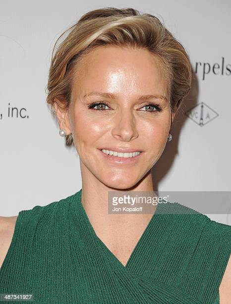Her serene highness Princess Charlene of Monaco attends The Colleagues' 26th Annual Spring Luncheon at Regent Beverly Wilshire Hotel on April 29 2014...