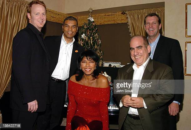 Herb Agrbagner vice president of Catalogue Marketing EMI Music Marketing Paul Cothran executive director VH1 Save The Music Foundation Natalie Cole...