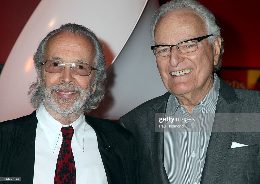 Herb Alpert and Jerry Moss attend Icons Of The Music Industry: Herb Alpert And Jerry Moss Of A&M Records at The GRAMMY Museum on October 1, 2012 in Los Angeles, California.
