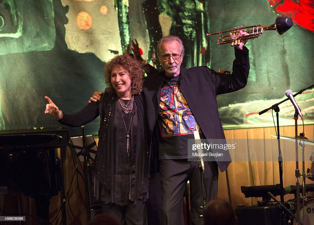 <a gi-track='captionPersonalityLinkClicked' href=/galleries/search?phrase=Herb+Alpert&family=editorial&specificpeople=700404 ng-click='$event.stopPropagation()'>Herb Alpert</a> and Lani Hall at <a gi-track='captionPersonalityLinkClicked' href=/galleries/search?phrase=Herb+Alpert&family=editorial&specificpeople=700404 ng-click='$event.stopPropagation()'>Herb Alpert</a> Performs At Vibrato Grill And Jazz at Vibrato on October 7, 2014 in Los Angeles, California.