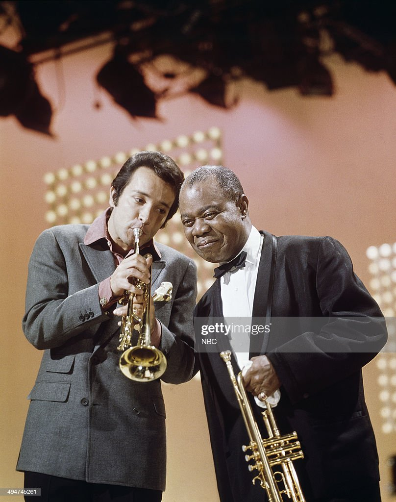 HALL -- 'Herb Alpert & The Tijuana Brass' Episode 1 -- Pictured: (l-r) Herb Alpert, Louis Armstrong --