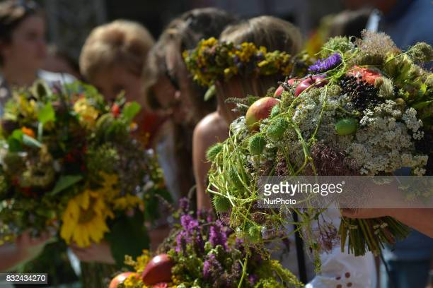 171 herbal and floral bouquets in three categories were submitted to this year's contest 'Wonderful Power of Bouquets' that took place in Krakow's...