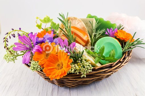 Herbal soaps and fresh spring flowers stock photo thinkstock herbal soaps and fresh spring flowers stock photo mightylinksfo