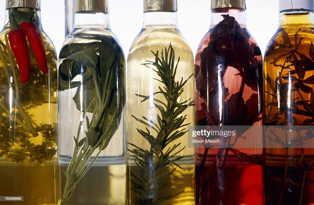 Herbal vinegars