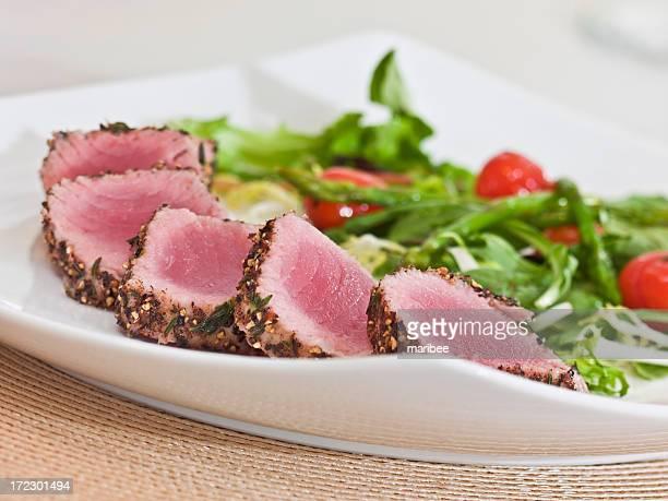 Crosta di erbe-tonno Lonza