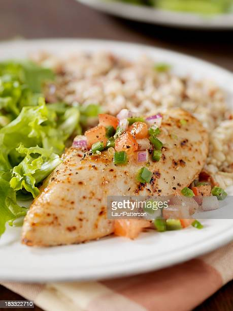Herbed Chicken Breast with Salsa