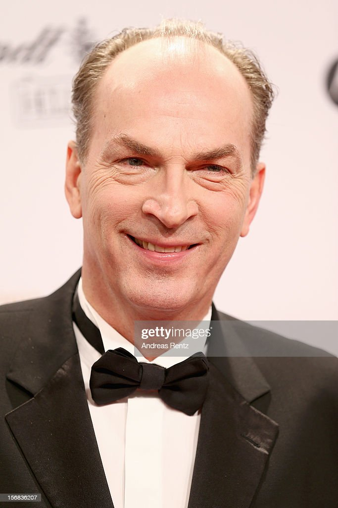 Herbert Knaup attends 'BAMBI Awards 2012' at the Stadthalle Duesseldorf on November 22, 2012 in Duesseldorf, Germany.