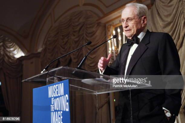 Herbert S Schlosser attends MUSEUM Of The MOVING IMAGE Dinner In Honor Of KATIE COURIC And PHIL KENT at St Regis Hotel on May 5 2010 in New York City
