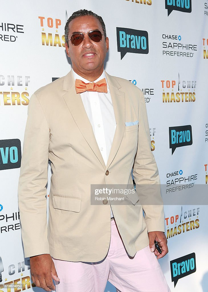 Herbert Wilson attends Bravo's 'Top Chef Masters' Season 5 Premiere Celebration at 82 Mercer on July 16, 2013 in New York City.