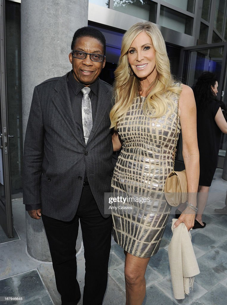 <a gi-track='captionPersonalityLinkClicked' href=/galleries/search?phrase=Herbie+Hancock&family=editorial&specificpeople=214131 ng-click='$event.stopPropagation()'>Herbie Hancock</a> and Lauri Peterson attend A Magical Night of Hope at Skirball Cultural Center on May 2, 2013 in Los Angeles, California.