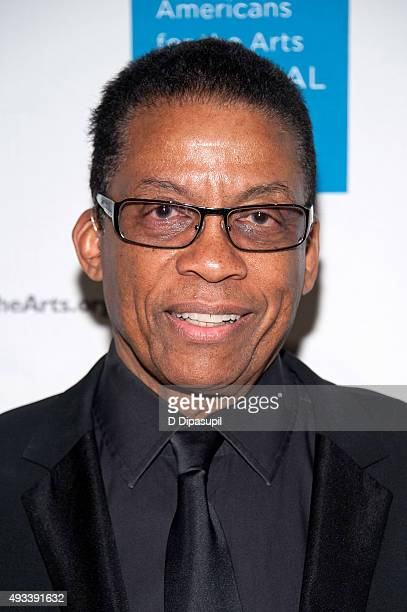 Herbie Hancock attends the 2015 National Arts Awards at Cipriani 42nd Street on October 19 2015 in New York City
